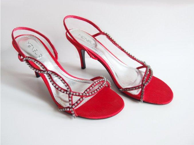 Sandály Menbur červené