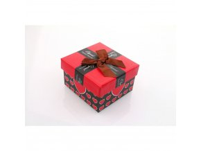 Dárková krabička červená