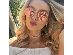 Dámské sluneční brýle růžové