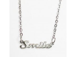 Řetízek z chirurgické oceli Smile