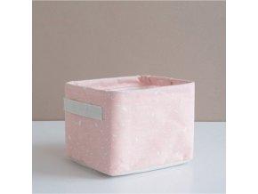 Košík na drobnosti růžový