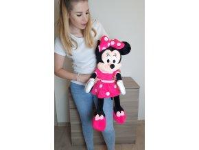 Plyšová Minnie Mouse ve skutečné velikosti 80 cm