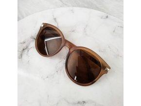 Dámské sluneční brýle hnědé
