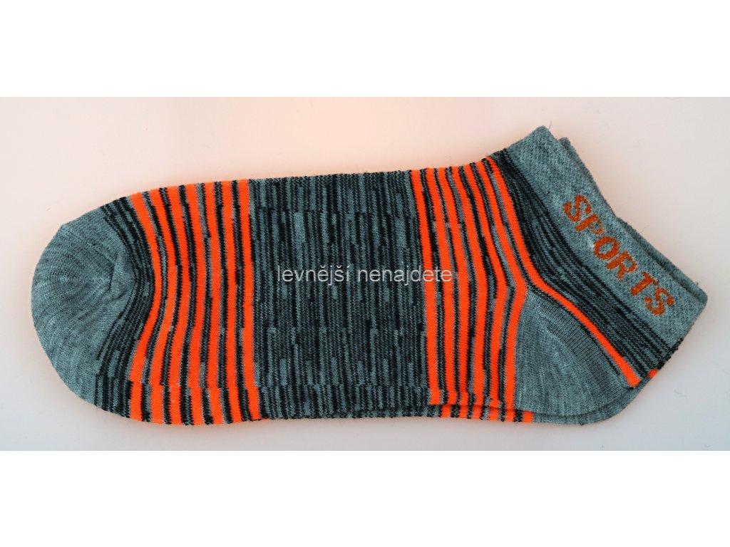 Dámské kotníkové bavlněné ponožky L7W 3 páry - levnejsinenajdete.cz ce46600c0c