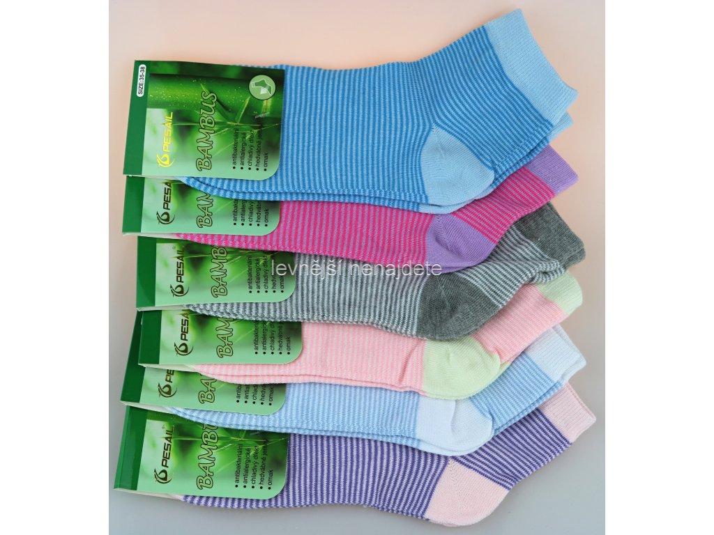 Dámské bambusové kotníkové ponožky prou 3 páry - levnejsinenajdete.cz 3f474caedc