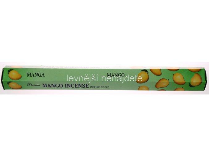 Vonné tyčinky MANGO 20 ks