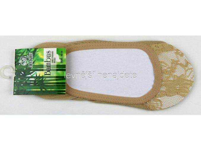 Bambusové krajkové ťapky tělové
