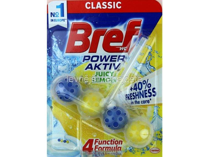 BREF POWER AKTIV WC závěs LEMON 50 g