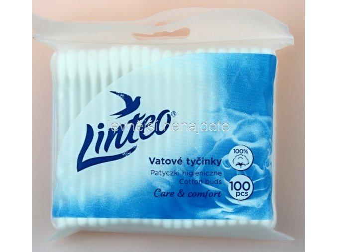 vatové tyčinky LINTEO v sáčku 100 ks