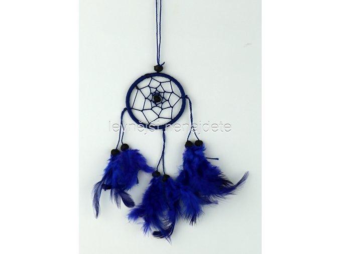 Lapač snů malý modrý 6 cm