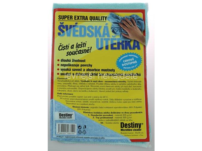 švédská mikro utěrka 35 x 30 cm