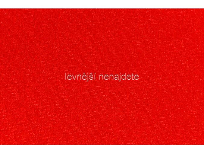Froté prostěradlo červené 180x200 cm