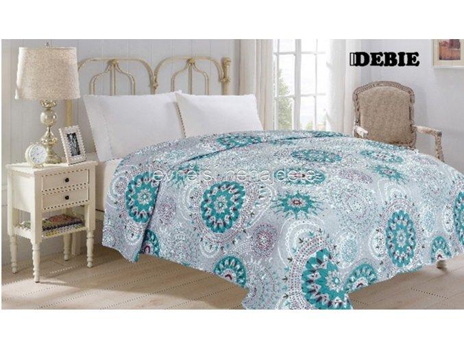 Přehoz na postel dvoulůžko DEBIE 220 x 240 cm