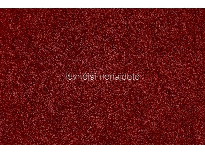Froté prostěradlo vínové 200x220 cm