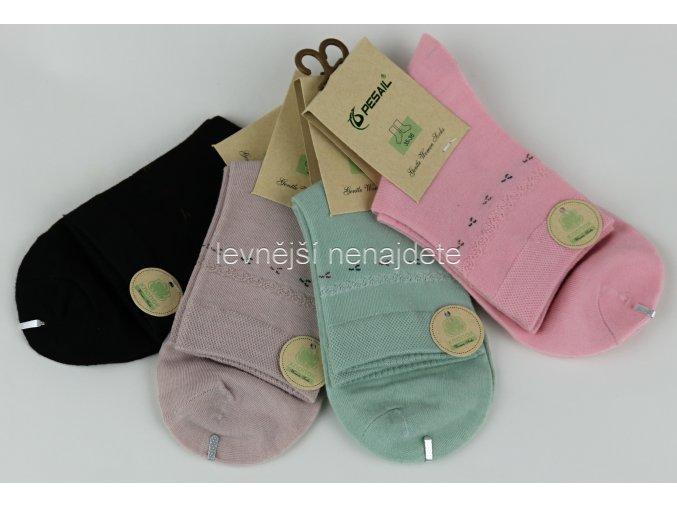 Dámské ponožky barevné vzor