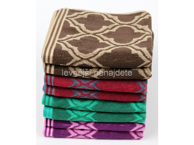 Froté ručník CASTLE 50 x 100 cm