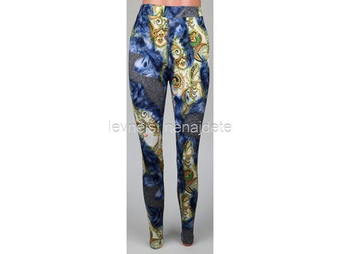 Dámské legíny vzor mod