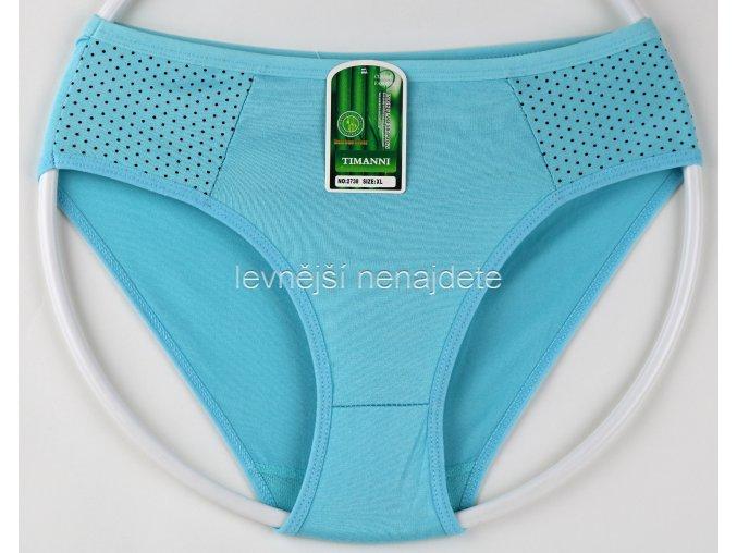 Bambusové kalhotky vz. 3 modré