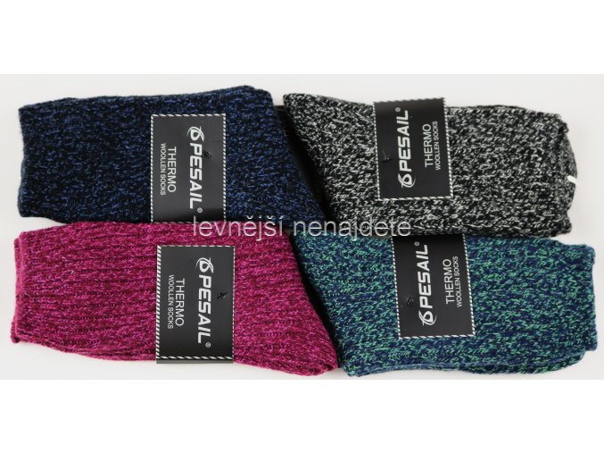 Dámské vlněné ponožky LY