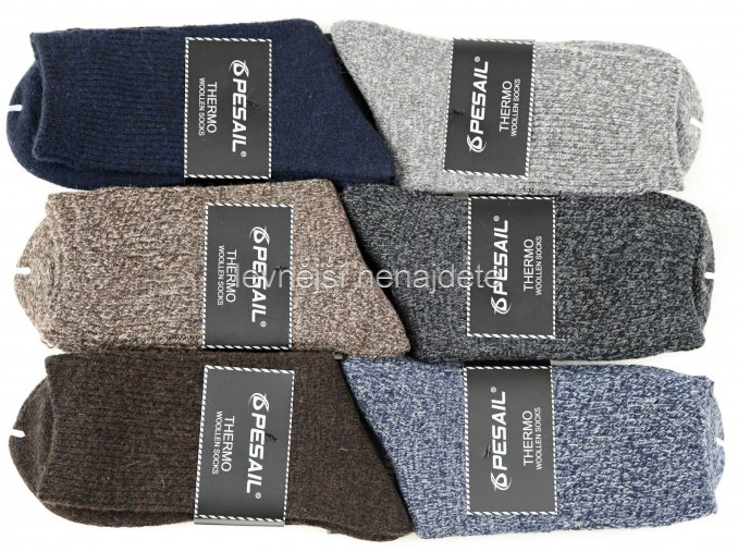 Pánské vlněné ponožky LY