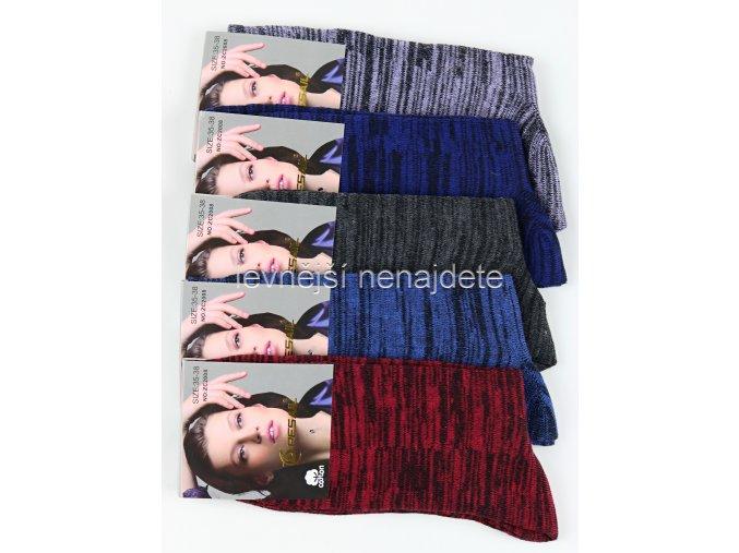 Dámské bavlněné ponožky ZC 5 kusů