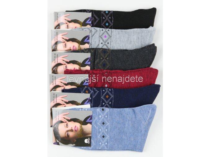 Dámské bavlněné ponožky Z6C 5 kusů
