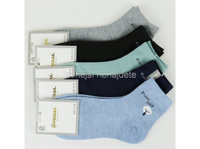Dámské bavlněné ponožky Z38H 3 páry