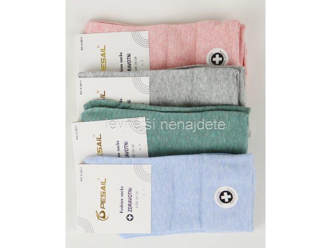 Dámské zdravotní bavlněné ponožky barev 3 páry