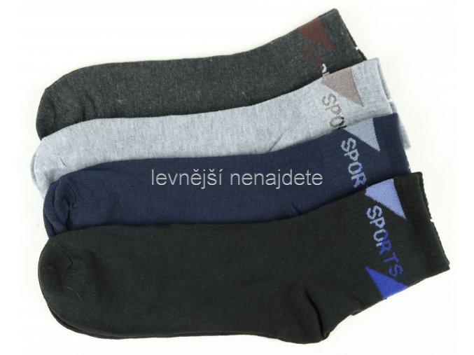 Pánské bambusové ponožky sports K94M 3 páry