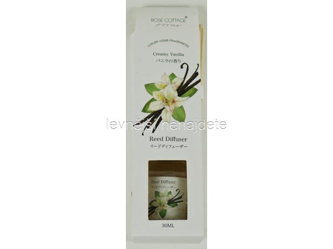 Vonný difusér vanilka 30 ml