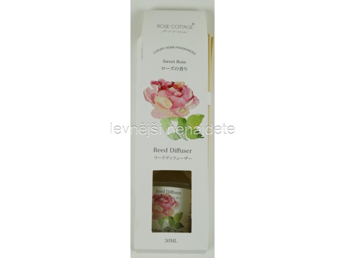 Vonný difusér rose 30 ml