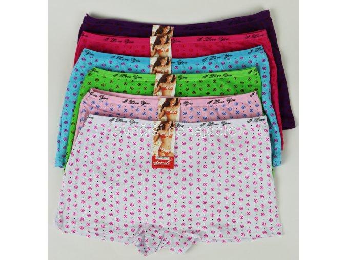 Dámské bavlněné kalhotky s nohavičkou vz. 65