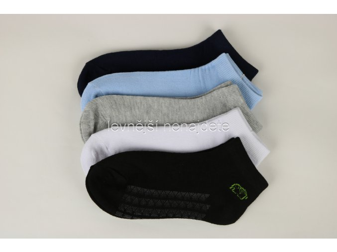 Dívčí bavlněné kotníkové ponožky 3 páry