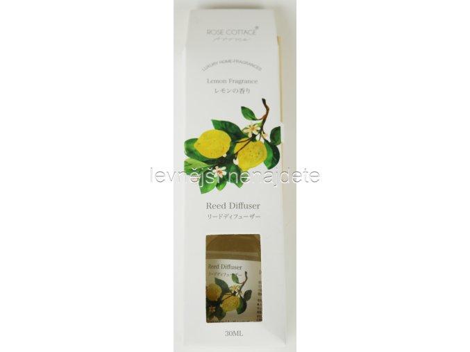 Vonný difusér citrón 30 ml