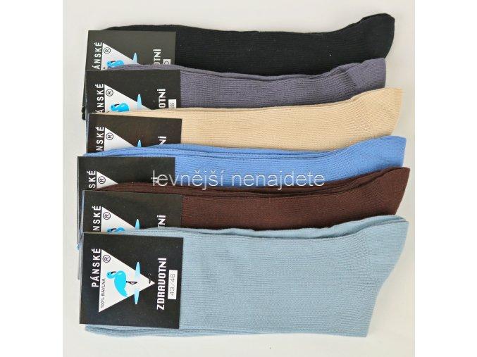 Pánské bavlněné  zdravotní  ponožky