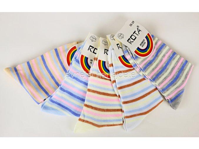Dámské ponožky CZ518 5 kusů
