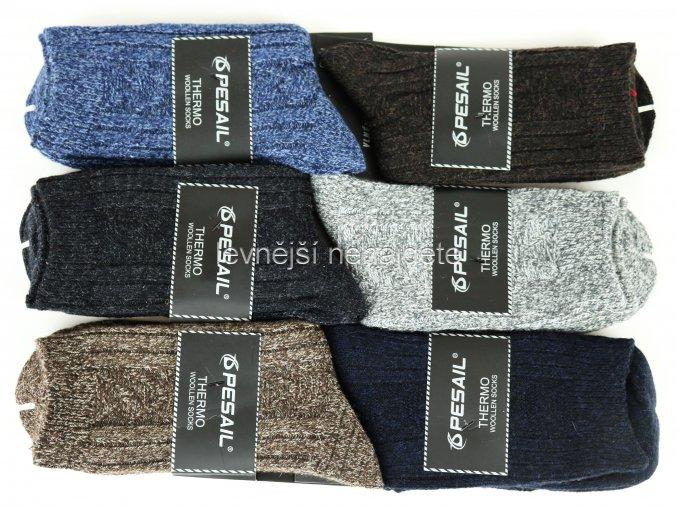 Pánské vlněné ponožky LY 02
