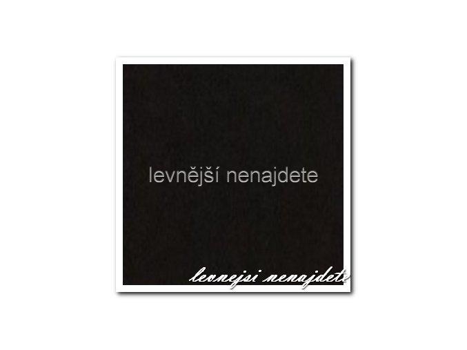 Jersey prostěradlo černé 200x220 cm
