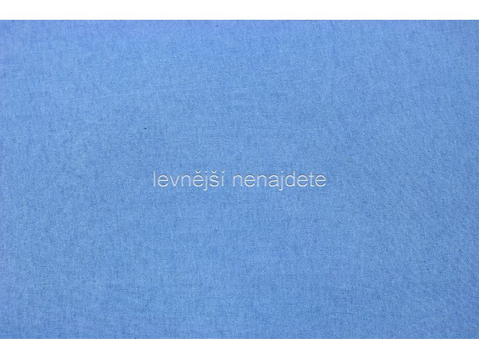 Froté prostěradlo světle modré  90x200 cm