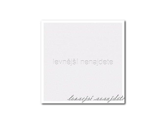 Froté prostěradlo bílé  90x200 cm