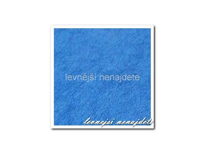 Froté prostěradlo modré 140x200 cm