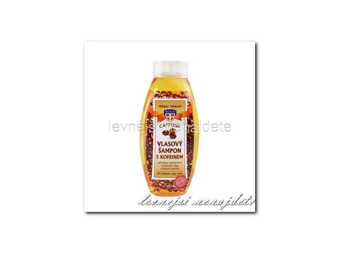 Vlasový šampon s kofeinem, 500ml