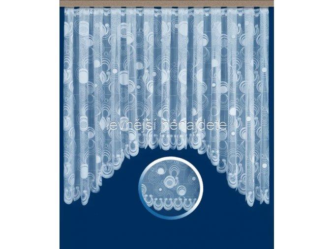 Oblouková záclona KAMILA 160 x 300