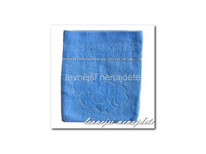 Froté žínka modrá, 15 x 23