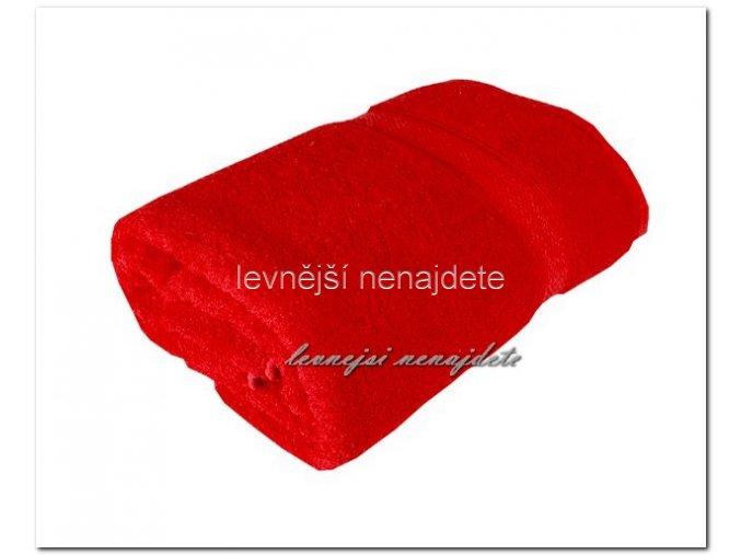 Froté ručník červený 40 x 90 cm