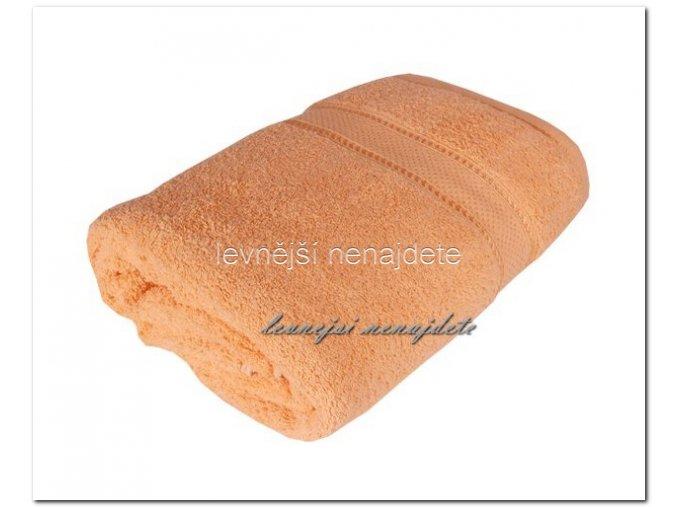 Froté ručník meruňkový 40 x 90 cm