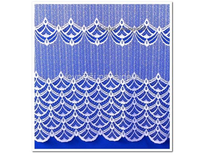 Záclona PAUČINA NA HRUBÉM 160 cm