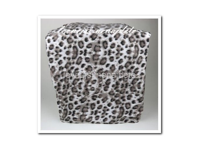 Fleecová deka - leopard 150 x 200