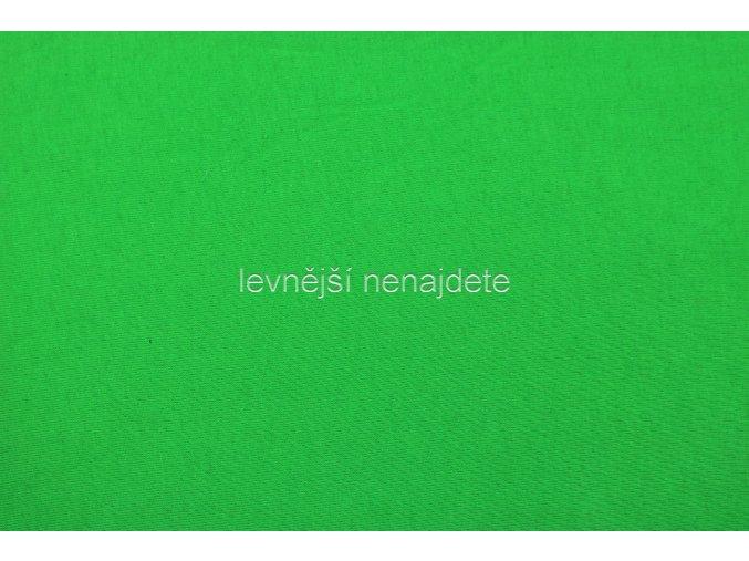 Jersey prostěradlo zelené 180x200 cm