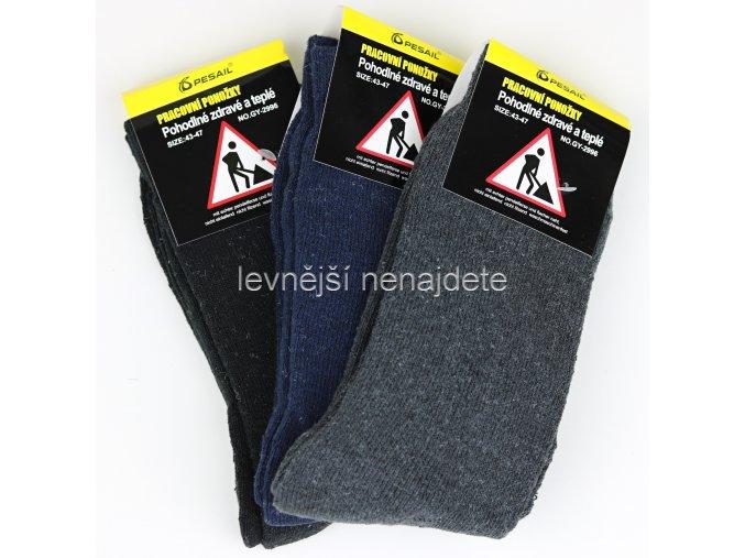 Pánské pracovní ponožky 3 páry